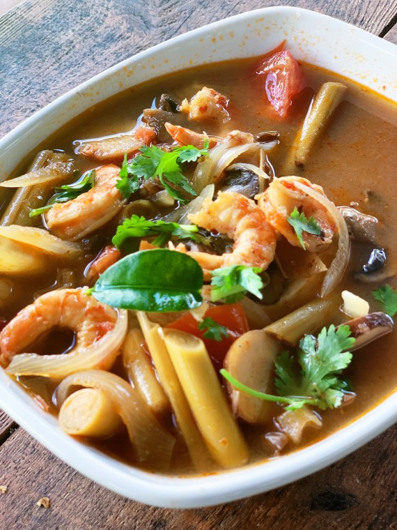Tom Yum Recipe   thai-foodie.com