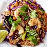 Recipe for Thai Fusion Rainbow Noodle Salad