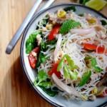 Yum Woon Sen | Spicy Thai Glass Noodles Salad Recipe | ยำวุ้นเส้น
