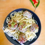 Thai Basil Meatballs with Thai Pesto Recipe