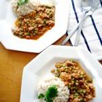 Easy Crockpot Thai Chicken Curry