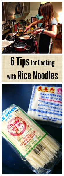 Learn how to finally make perfect rice noodles for all your favorite Asian noodle dishes, since rice noodles can be so tricky to work with!