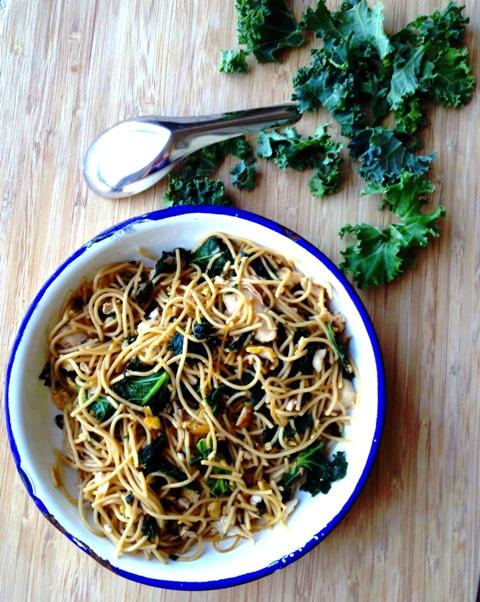 Pad See Ew Spaghetti Recipe