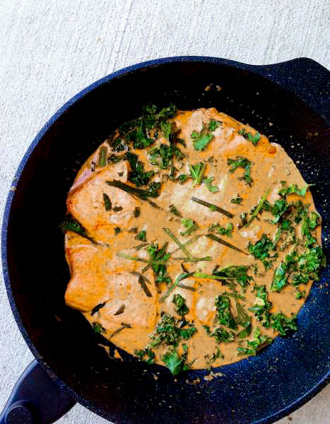 Quick Thai Salmon Red Curry Recipe