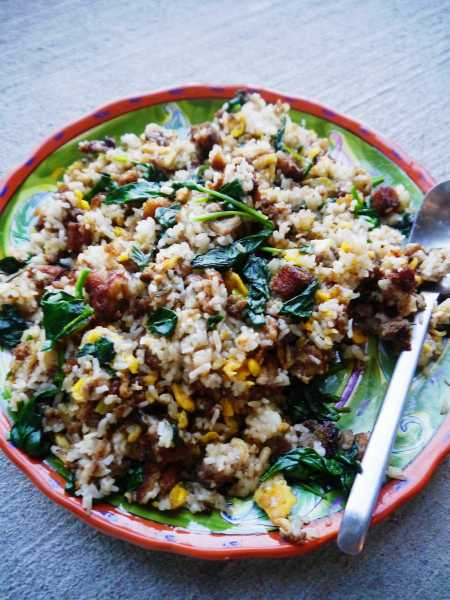 Stuffing Thai Fried Rice
