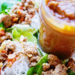 Have you ever had legit Thai peanut sauce? Now's your chance to make it at home with this easy recipe. So jam-packed with flavor: coconut milk, Thai red curry paste, and roasted peanuts! Plus it's a gluten-free, dairy-free, vegan Thai peanut sauce! Perfection! | thai-foodie.com