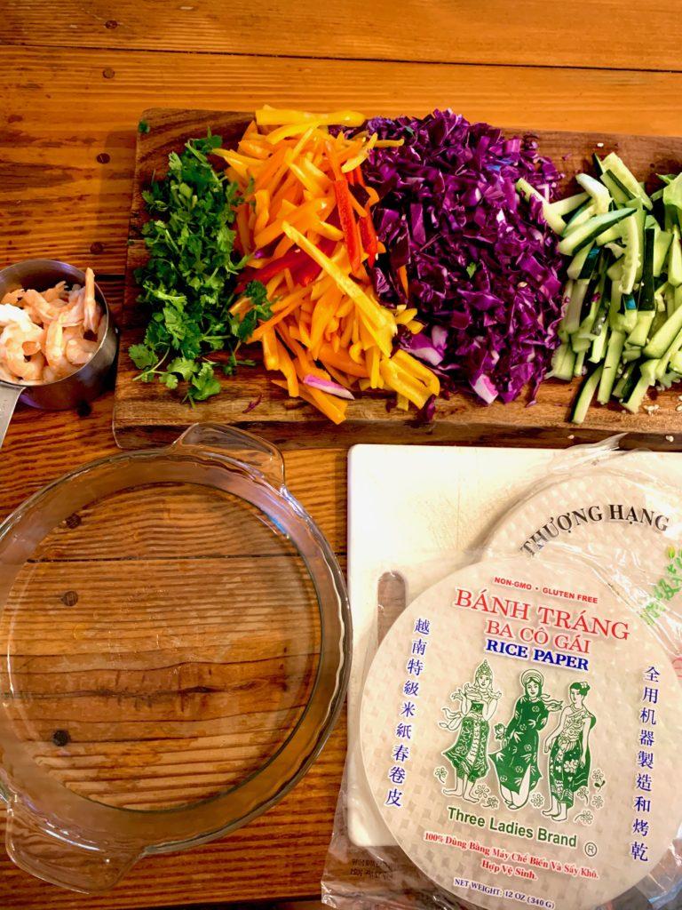 Thai Fresh Spring Rolls | Thai-foodie.com